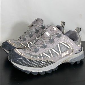 Helly Hansen Infinity Fit Trail Shoes Gray Sz 5.5